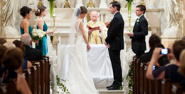 Rite of Catholic marriage