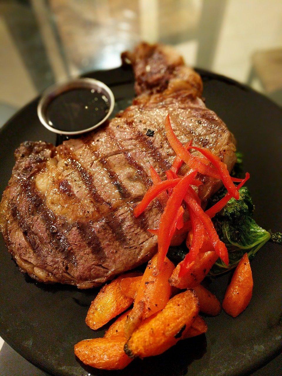 סטייק בשר